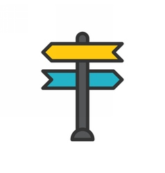 Decision Making Icon vector image