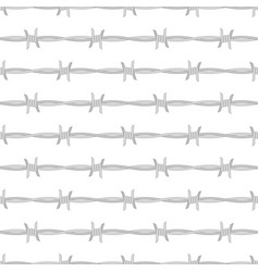 detailed barbed vector image