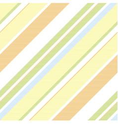 green orange striped background seamless pattern vector image