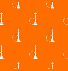 hookah pattern seamless vector image
