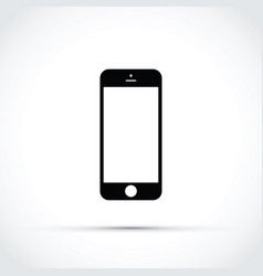 Mobile phone cell phone icon vector