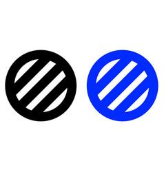 ventilation grilles icon vector image