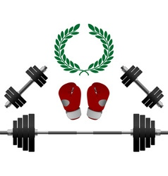 Weights Gloves Championship vector