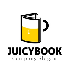 Juicy Book Design vector image vector image