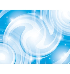 abstract shiny light blue background vector image vector image