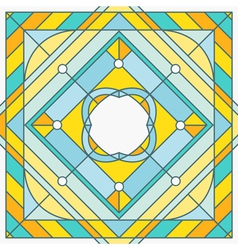 abstract template in outline style - hipster desig vector image