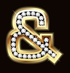 and bling vector image