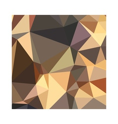 Bole Brown Abstract Low Polygon Background vector