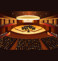 classical music concert vector image