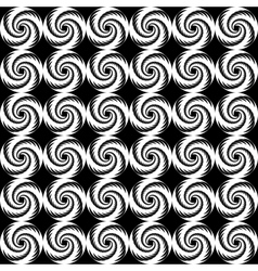 Design seamless spiral trellis background vector