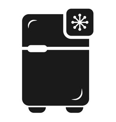 Fridge icon simple style vector