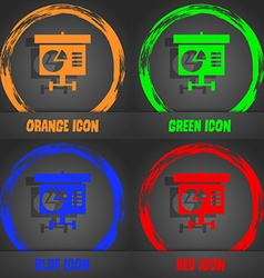 Graph icon sign Fashionable modern style In the vector image