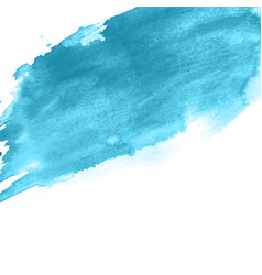 Hand drawn watercolor brush paint background vector