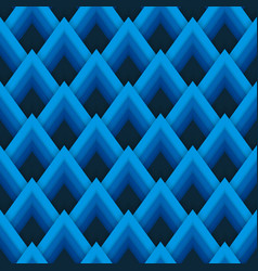 pattern seamless pattern with blue vector image