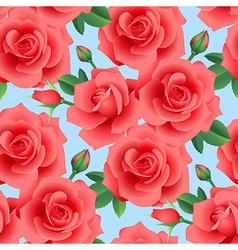 rose pattern day vector image