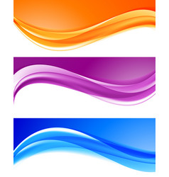 Abstract bright colorful backgrounds collection vector