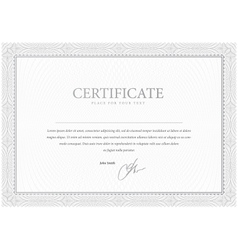 Certificate Design Gray pattern that is used in vector image