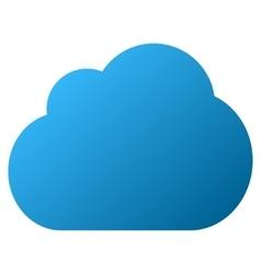 Cloud Gradient Icon vector