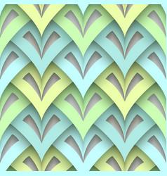 Cutout paper texture seamless pattern vector