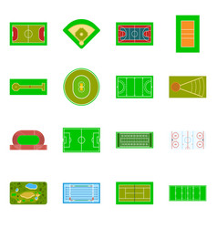 Field and arena symbol vector