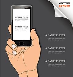 HandPhone vector