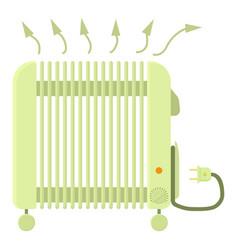 Heater icon cartoon style vector