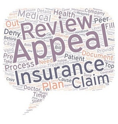 How to Appeal When Your Medical Insurance Declines vector image