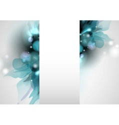 Spring And Summer Floral Background vector image