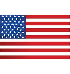 USA flag design vector