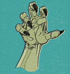 Ghoul Hand vector image