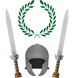 roman glory fourth variant vector image vector image