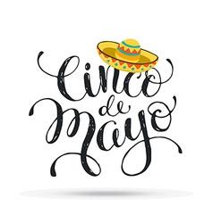 Cinco de Mayo vector image vector image