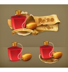 Perfume icon vector image vector image