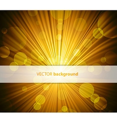 Abstract background with sunshine and half vector