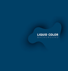 abstract liquid wave background in panton color vector image