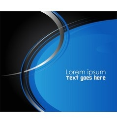 Blue paper background overlap dimension ill vector image