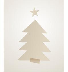 christmas tree-06 vector image