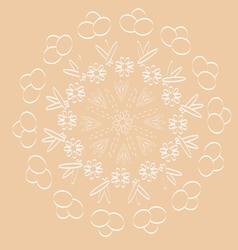 Circular pattern vector