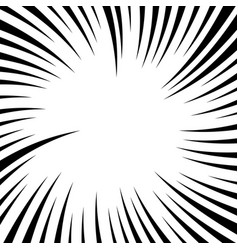 Radiating lines with twirl rotation effect vector