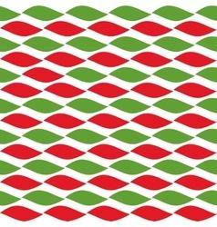 Simple retro geometric Christmas pattern vector image