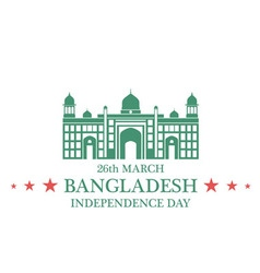 Independence Day Bangladesh vector image vector image
