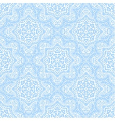 seamless pattern from white abstract elements vector image