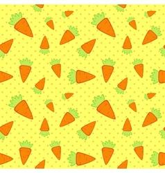 Carrots seamless pattern vector