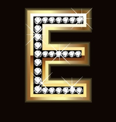 e bling vector image vector image