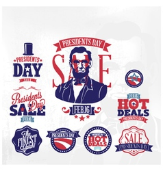 presidents day sale vector image vector image