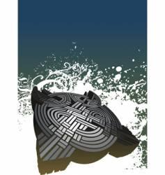 enigma illustration vector image vector image