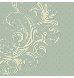 Background in retro style vector