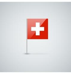 Flag of Switzerland vector image