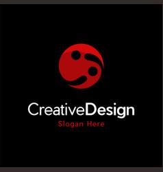 letter ii innovation creative modern logo vector image