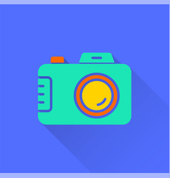 photo - icon for graphic and web design vector image